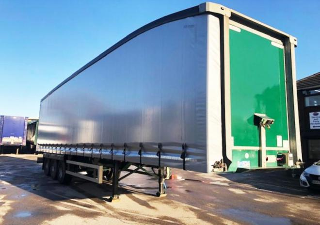 Montracon 2013 4.5m Sloping Roof Curtainsider